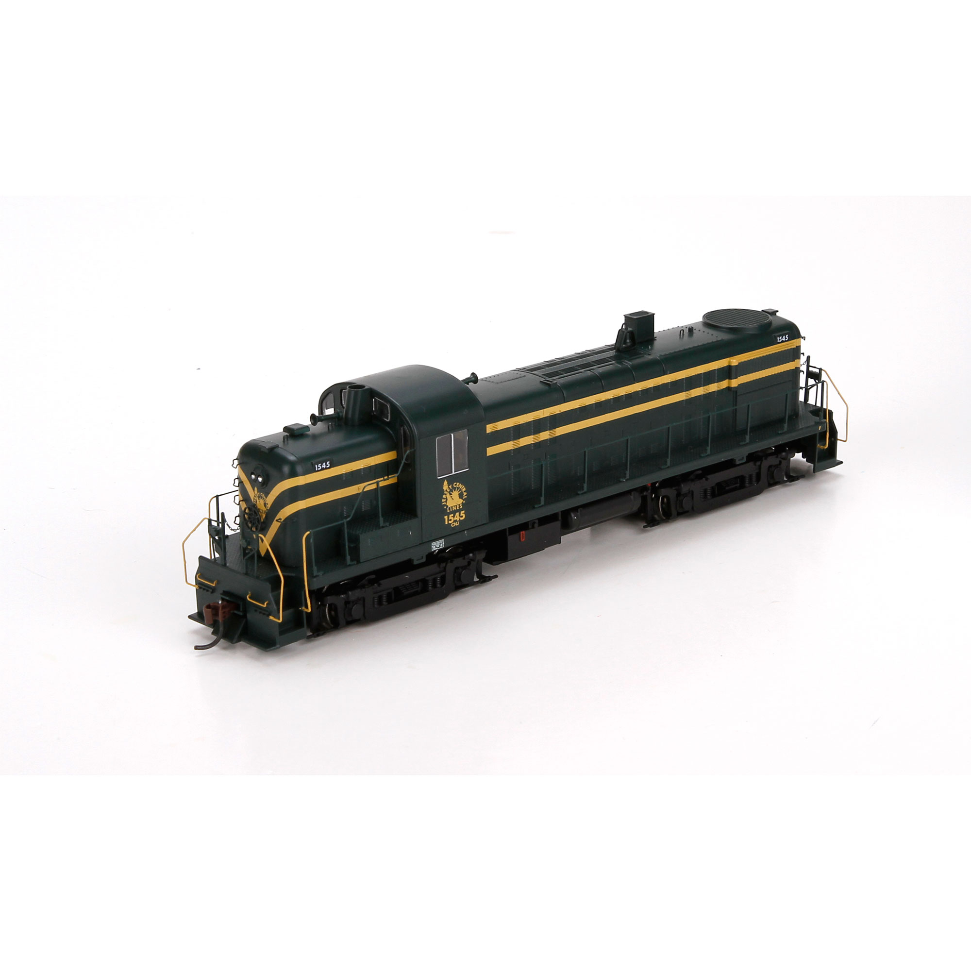 HO RTR RS3, CNJ/Dual Service/Green & Yellow #1545