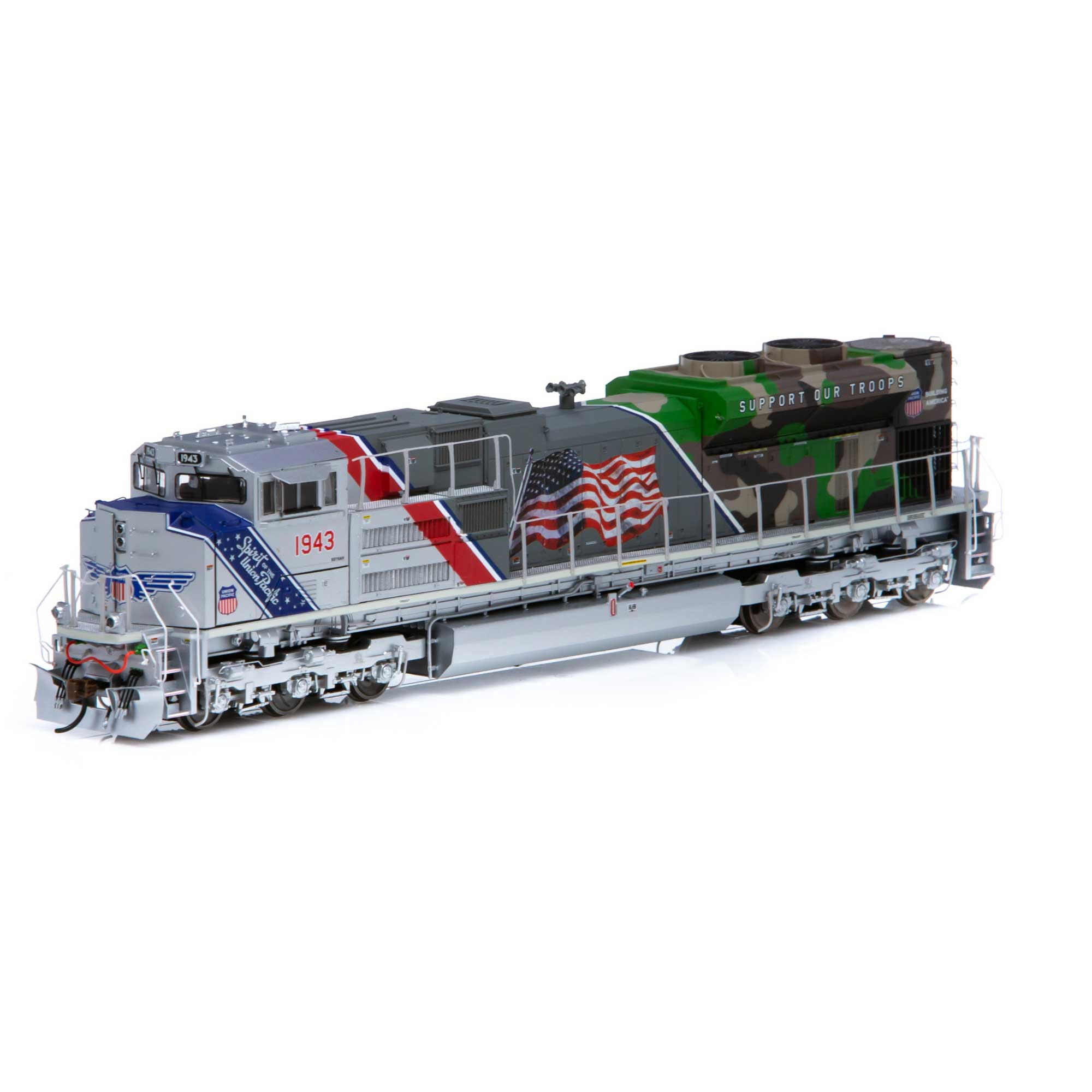 Ho Sd70ace Up Spirit Of Up 1943 Athg19430 Athearn Trains