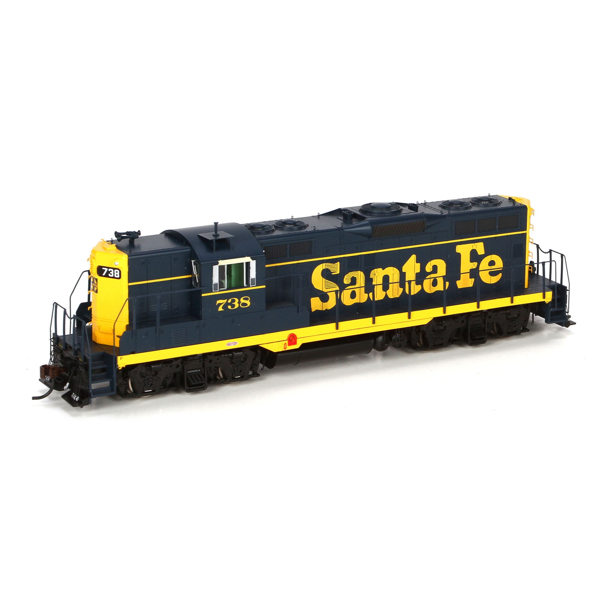 Ho Gp9 Sf 738 Athg62483 Athearn Trains