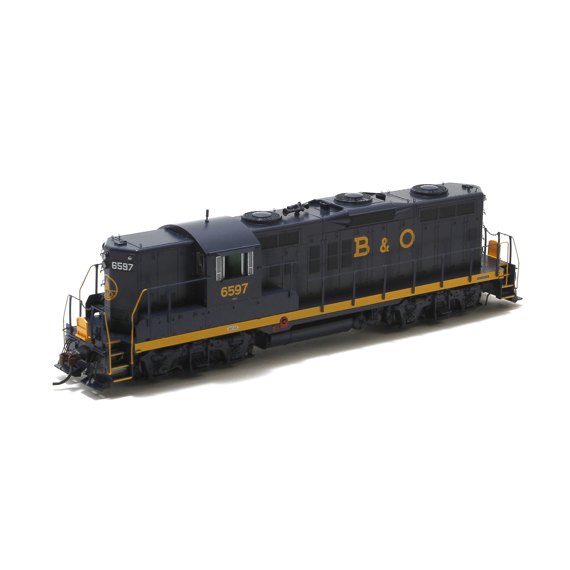 Ho Gp9 W Dcc Sound B O 6597 Athg62702 Athearn Trains