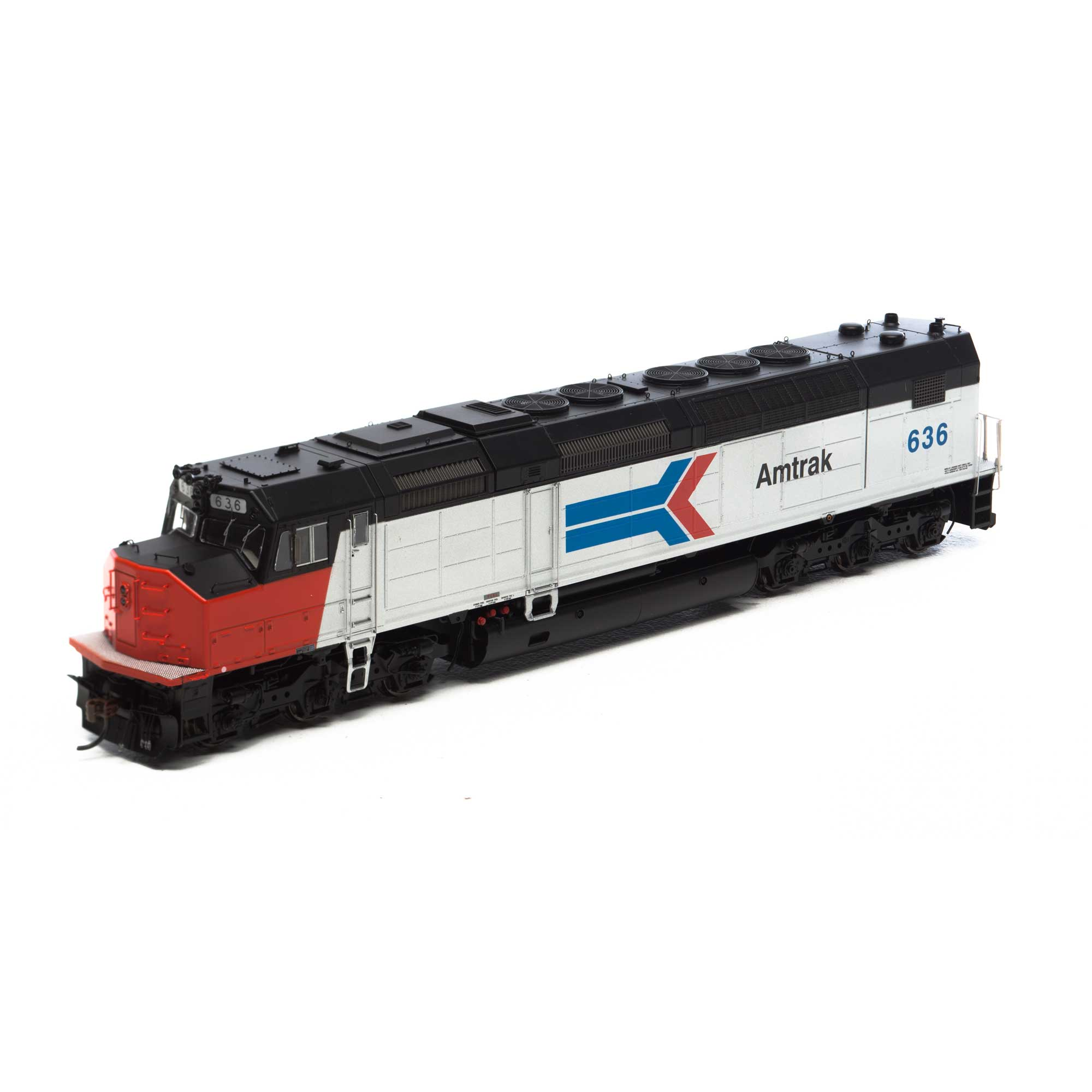 HO SDP40F w/DCC & Sound, Amtrak #636 (ATHG63974): Athearn Trains