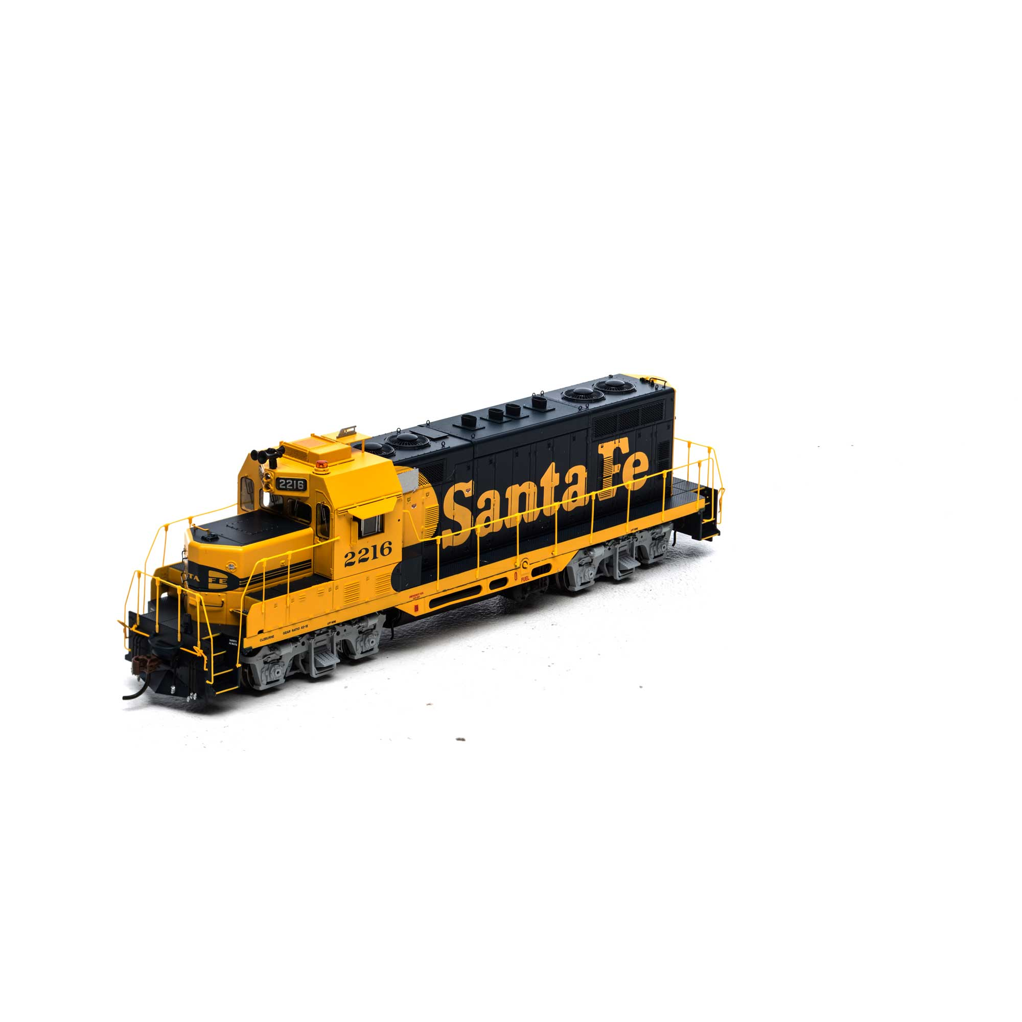 HO GP7u w/DCC & Sound, SF #2216