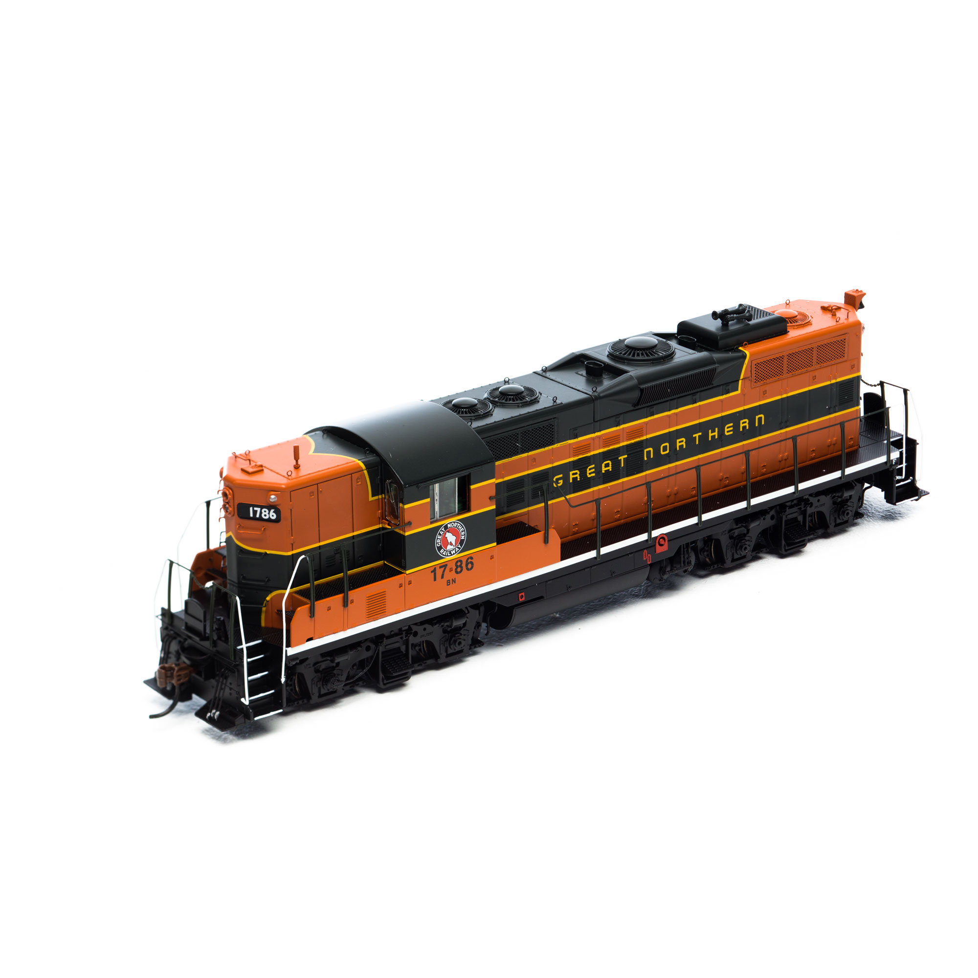 Ho Gp9 W Dcc Amp Sound Bn 1786 Athg64266 Athearn Trains