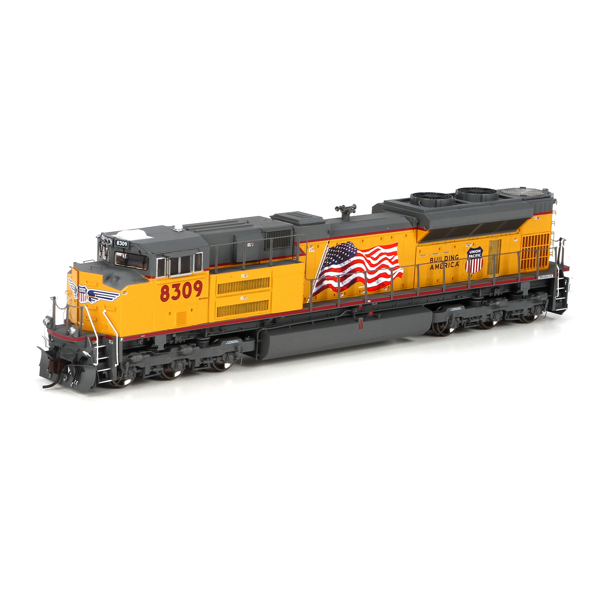 Ho Sd70ace Up Red Sill Stripe 8309 Athg68559 Athearn Trains