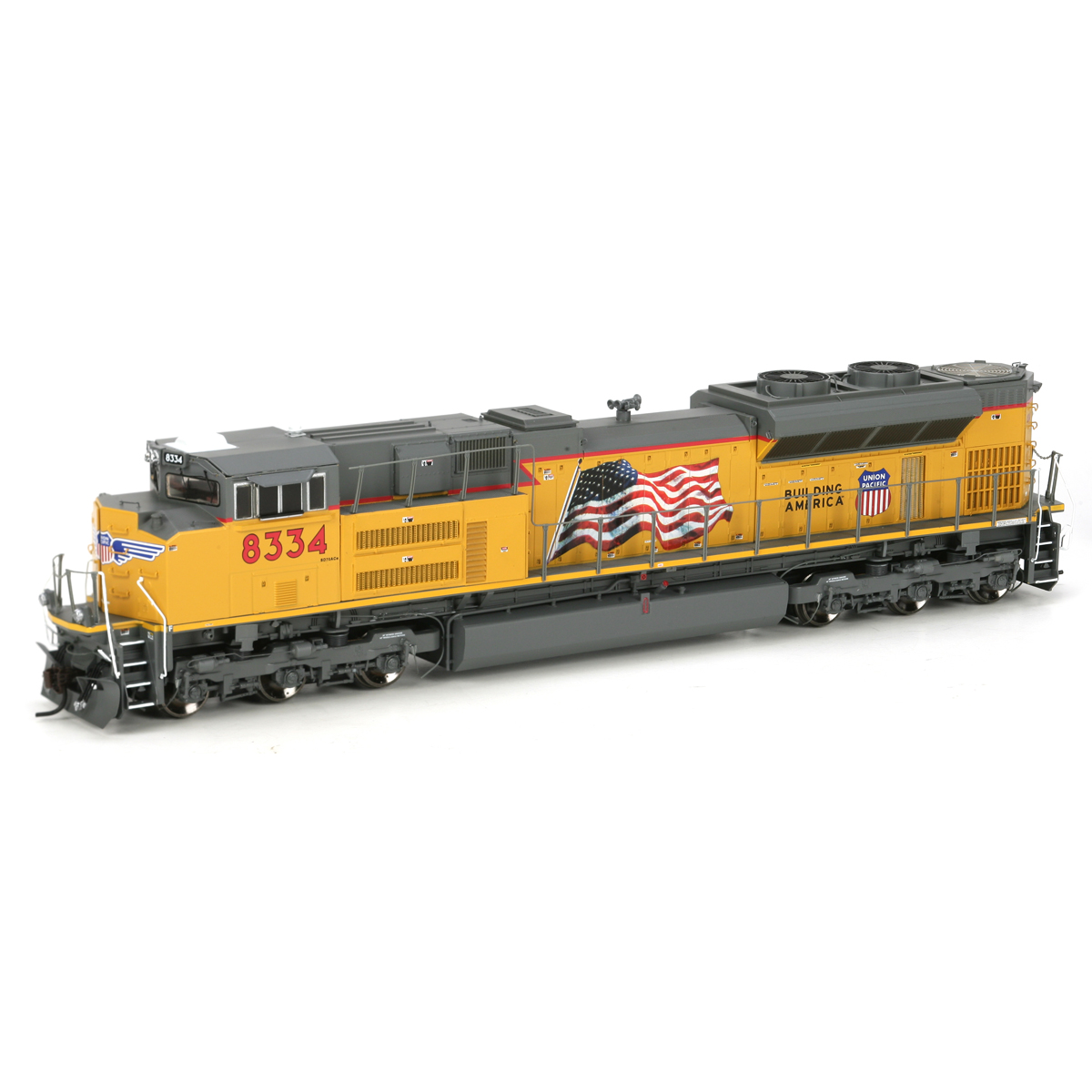 Ho Sd70ace W Dcc Sound Up Flag 8334 Athg68620 Athearn Trains