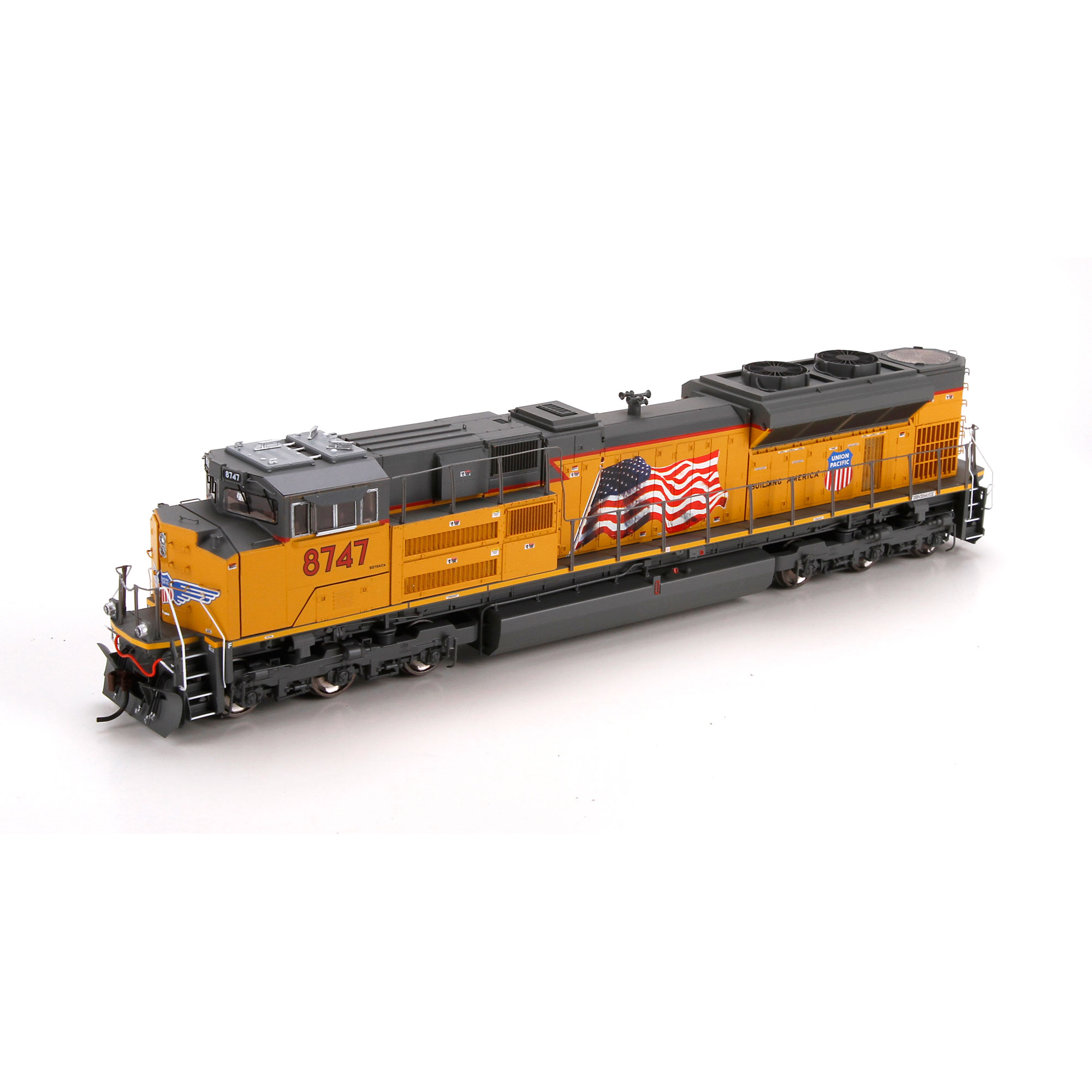 Ho Sd70ace W Dcc Amp Sound Up 8747 Athg68812 Athearn Trains