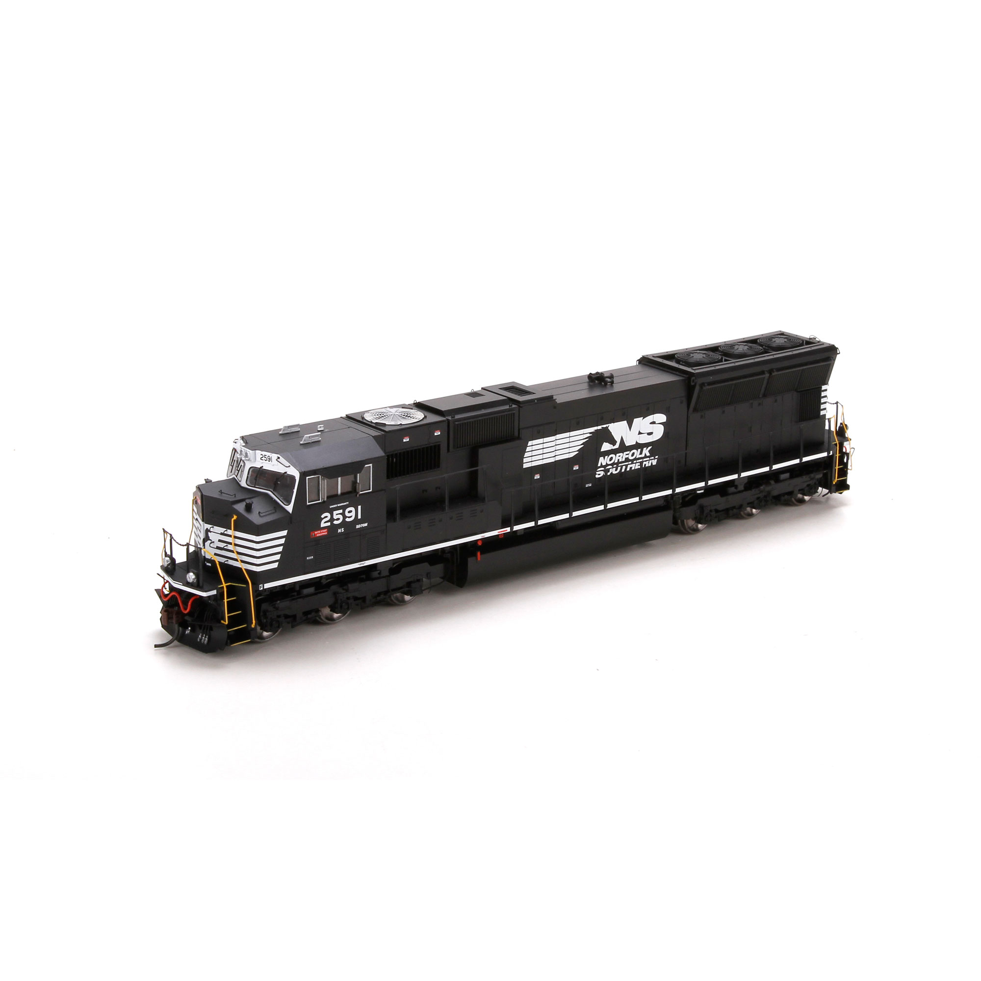 HO SD70M w/Flared Radiators w/DCC & Sound,NS #2591