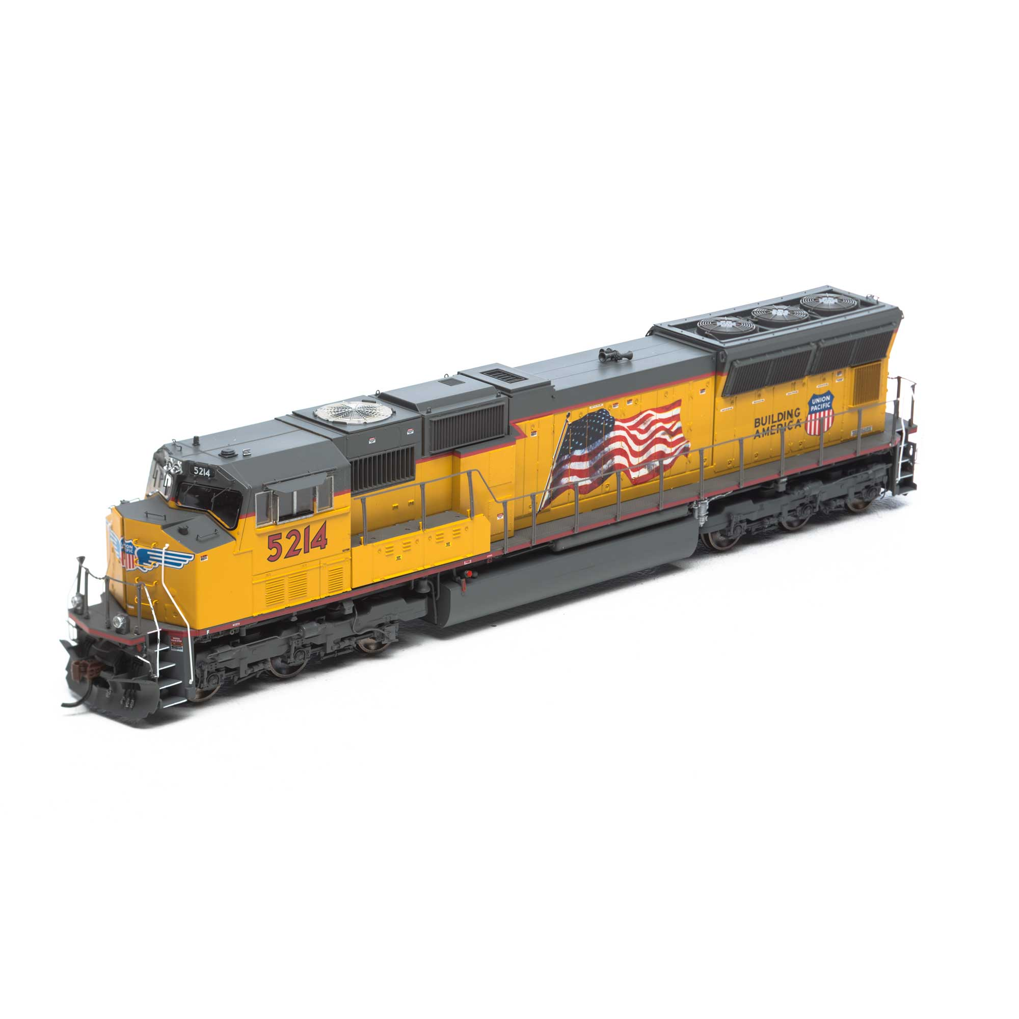 Ho Sd70m W Dcc Sound Up Flag 5214 Athg69342 Athearn Trains