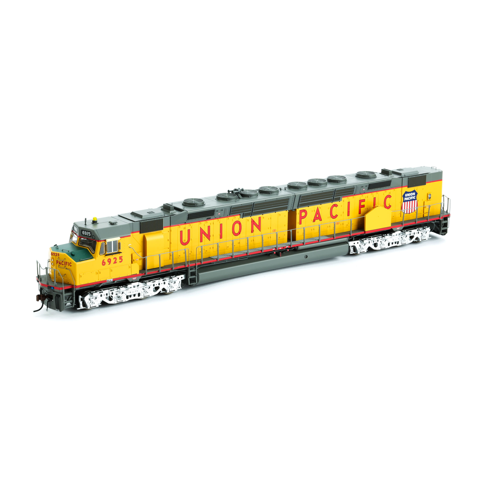 Ho Dda40x W Dcc Sound Up Up Shield 6925 Athg69553 Athearn Trains