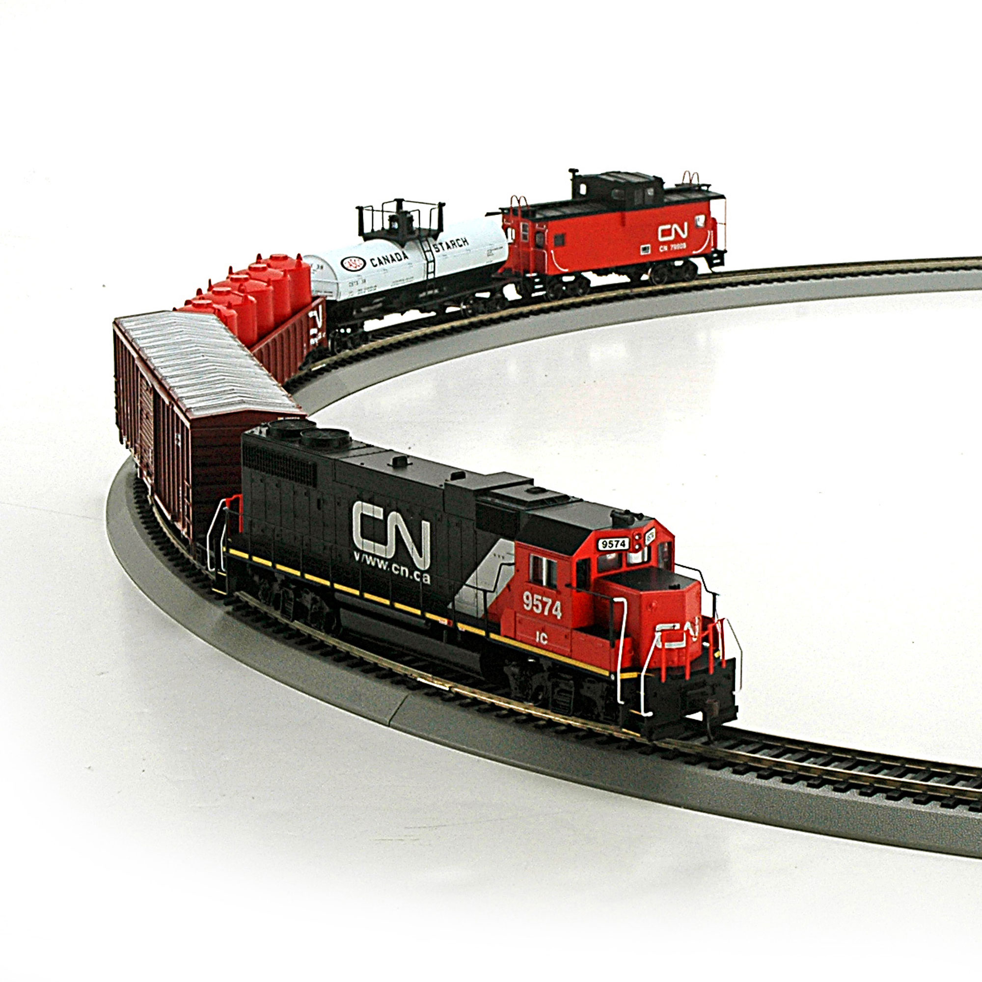 Ho Iron Horse Train Set Cn Rnd14262 Athearn Trains