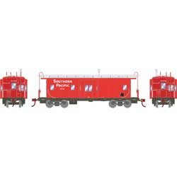 Roundhouse 74664 HO Bay Window Caboose SP/Red #1741