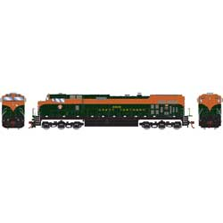 RND78007 Roundhouse HO Dash 9-44CW, GN #3909