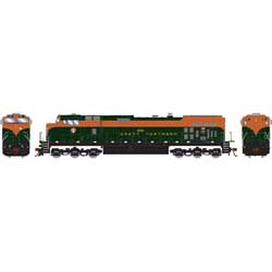 RND78009 Roundhouse HO Dash 9-44CW, GN #3911