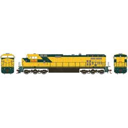 RND78027 Roundhouse HO Dash 9-44CW, UP/Ex-C&NW #9696