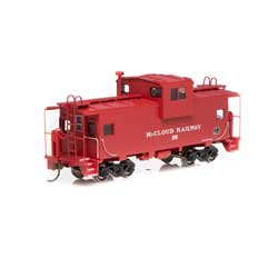 RND90109 Roundhouse HO WV Caboose,McCloud River #102