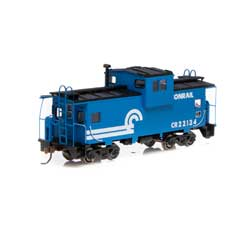 RND90149 Roundhouse HO Wide Vision Caboose,CR #22134