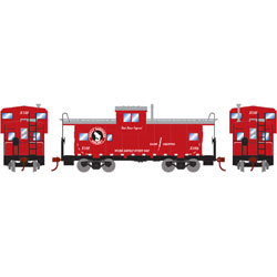 RND90152 Roundhouse HO Wide Vision Caboose, GN #X100