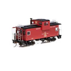 RND90163 Roundhouse HO Wide Vision Caboose,RI #17005