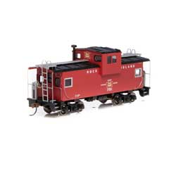 RND90164 Roundhouse HO Wide Vision Caboose,RI #17011