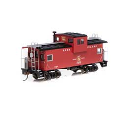 RND90165 Roundhouse HO Wide Vision Caboose,RI #17020