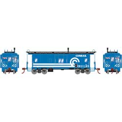 Roundhouse 90167 HO Bay Window Caboose CR #21153