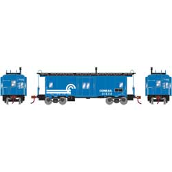 Roundhouse 90169 HO Bay Window Caboose CR #21233