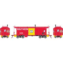 Roundhouse 90176 HO Bay Window Caboose Southern #X268