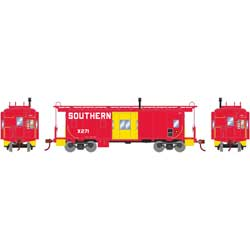 Roundhouse 90177 HO Bay Window Caboose Southern #X271