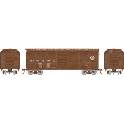RND90293 Roundhouse HO 40' Single Sheathed Box, PRR #564328