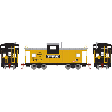 HO Wide Vision Caboose, TTX #111 (RND87944): Athearn Trains