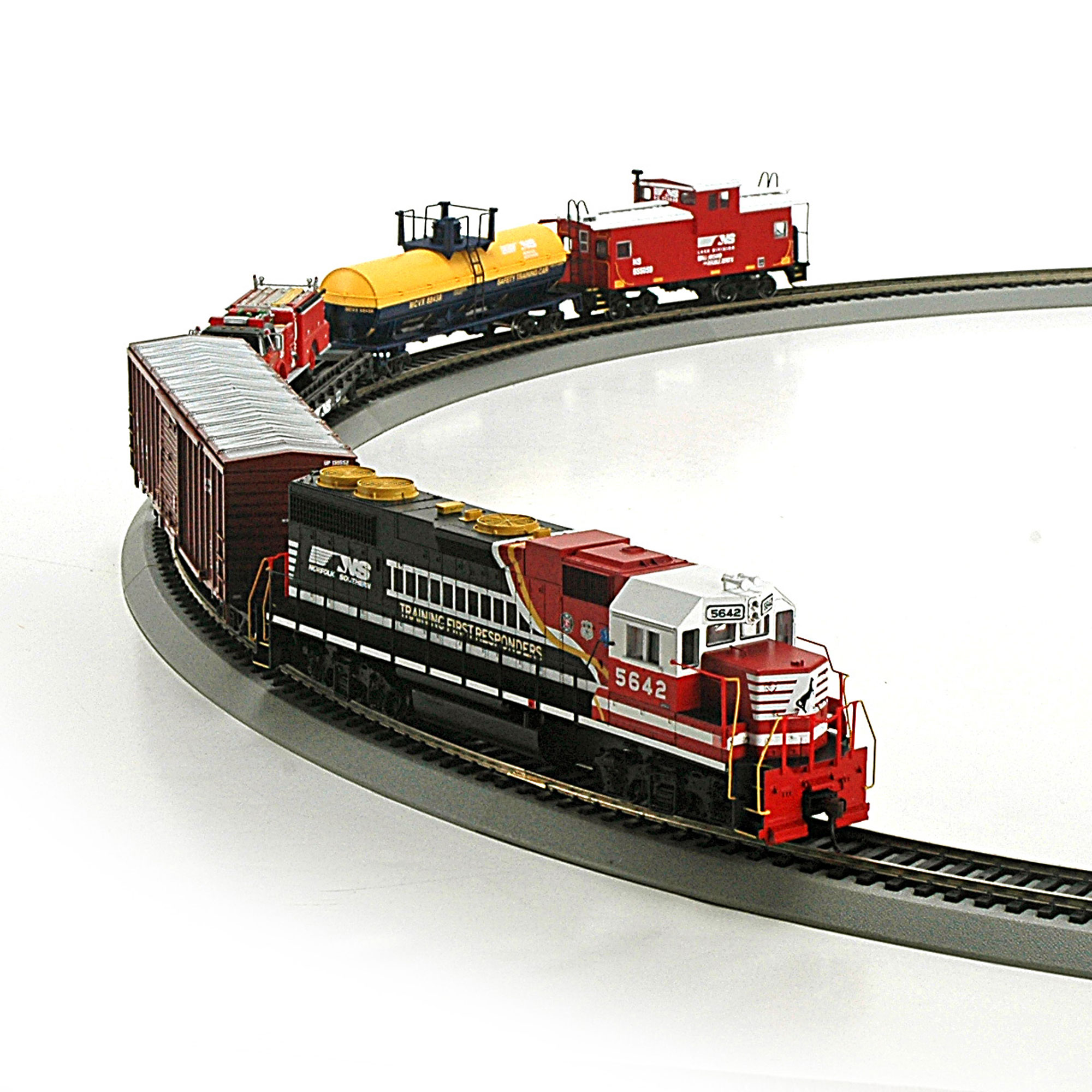 Roundhouse Model Train Wiring Tracks Simple Guide About Railroad Track Ho First Responder Set Ns Rnd14264 Athearn Trains Rh Com